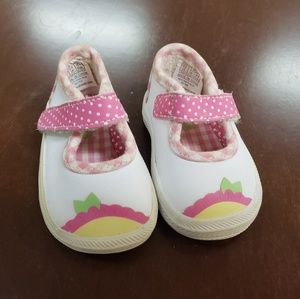 Leather Keds for baby girl, size 0